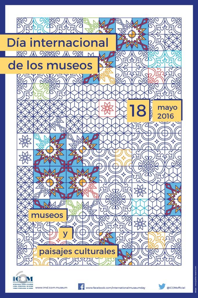 CARTEL ICOM MUSEOS 2016